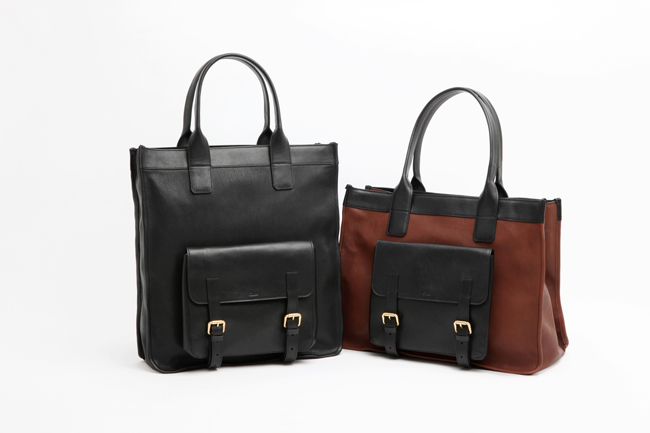(Left) tote bag Black | (Right) tote bag Hot chocolate