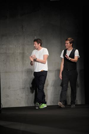 (Left) Marcus Wainwright | (Right) David Neville