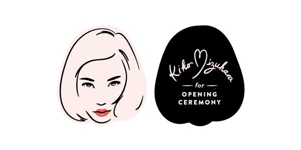 Kiko Mizuhara for OPENING CEREMONY
