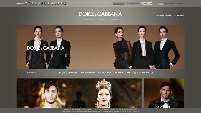 Dolce & Gabbana HP