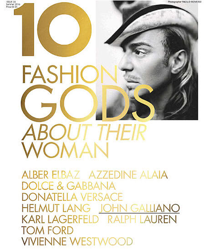 John Galliano for 10 Magazine | Photographed by Paolo Roversi