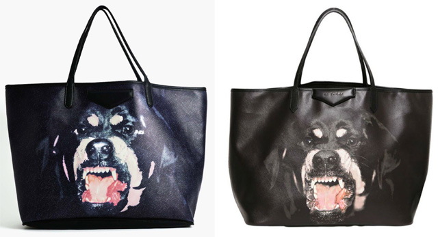 (Left) NastyGal (Right) Givenchy