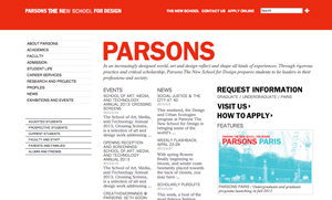 Source: Parsons Fashion College