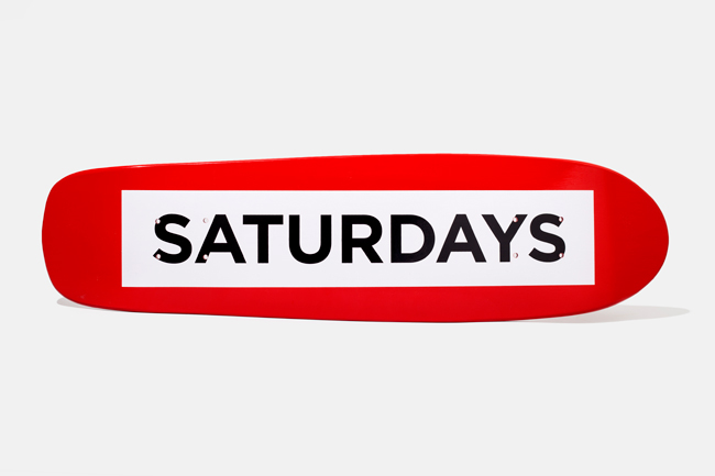 Saturdays × Shut Skateboard Deck