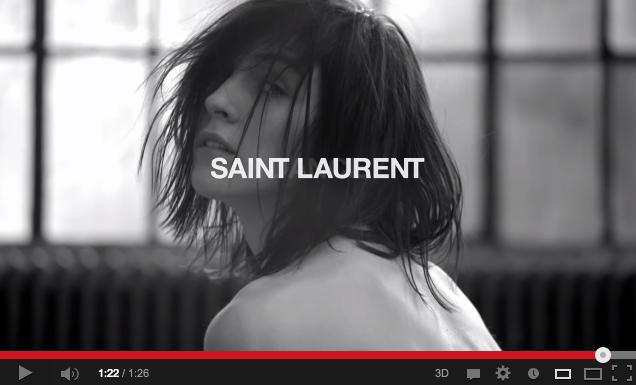 Source: Saint Laurent's Youtube