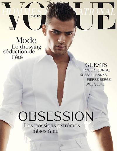 Sean O'Pry via Vogue Paris