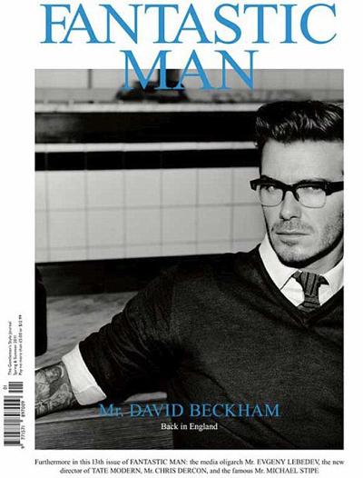 David Beckham via FANTASTIC MAN