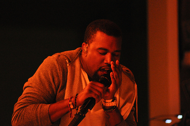 Kanye West | Photo by Jason Persse via Flickr