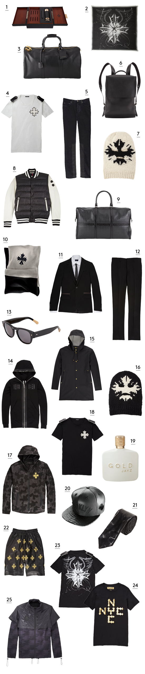 Jay-Z Launches Christmas Collection With Barneys New York