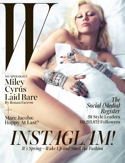 Miley Cyrus | © W Magazine