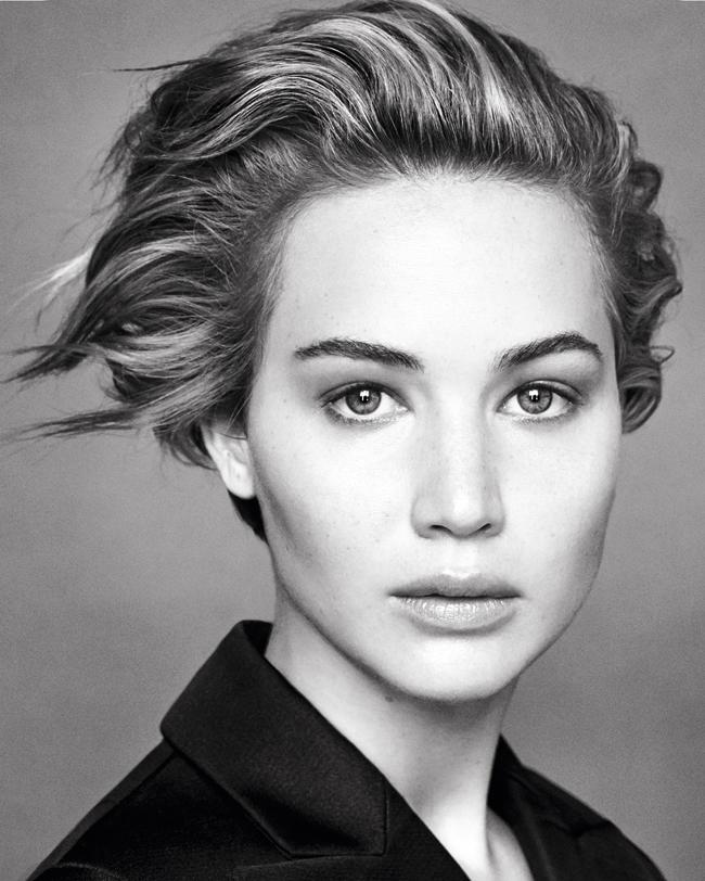 Jennifer Lawrence | Photo by Patrick Demarchelier | © Dior