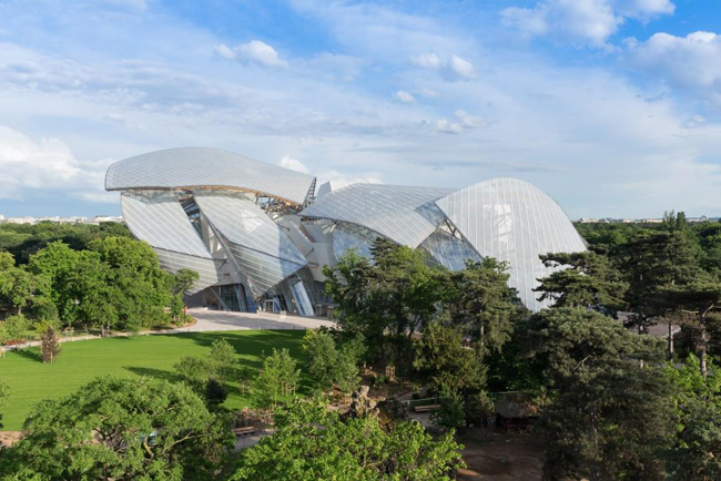 © Iwan Baan, 2014 Caption : The Fondation Louis Vuitton