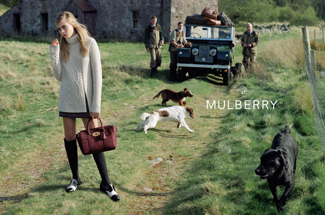 Photography: Tim Walker   © Mulberry