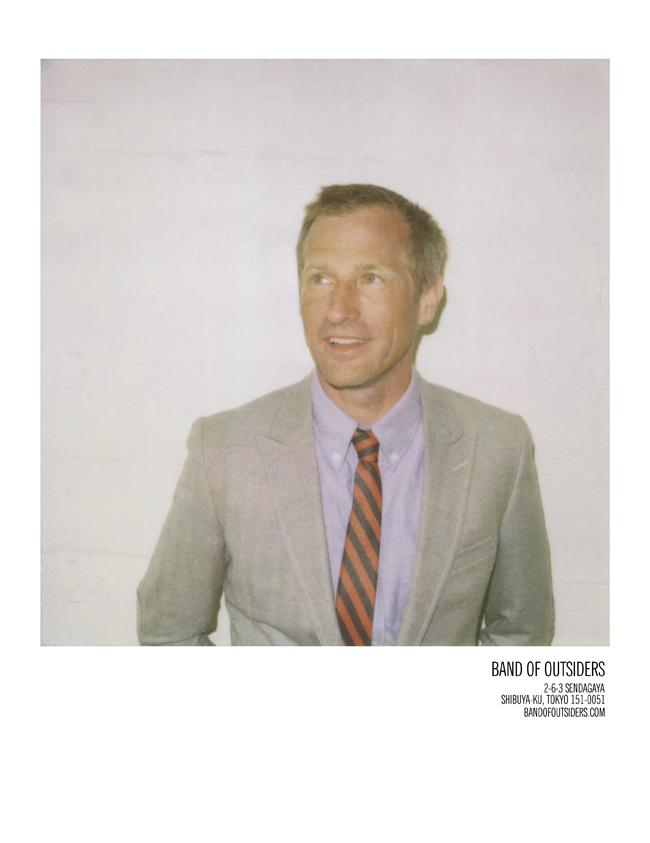 Spike Jonze | Photography: Scott Sternberg | © BAND OF OUTSIDERS