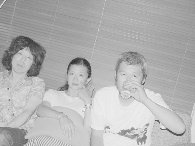 写真: 鈴木親 左から: 坂本慎太郎 | 古田泰子 | 五木田智央