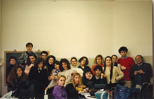 写真講義の生徒たち