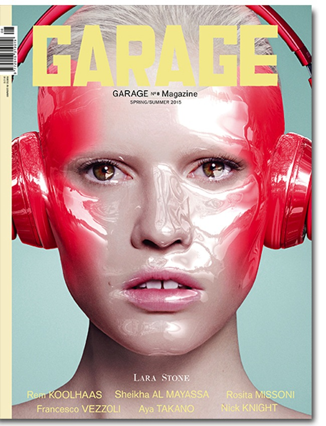 Cover images via www.garagemag.com