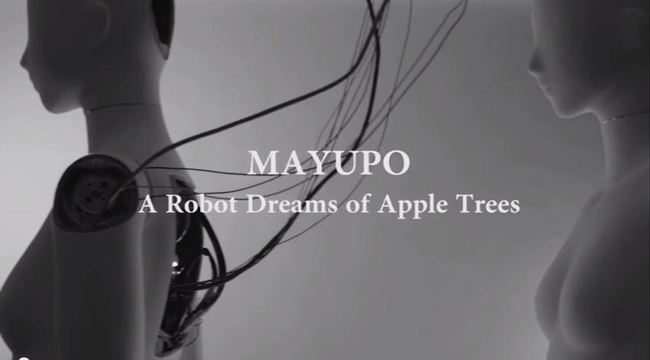 © MAYUPO A Robot Dreams of Apple Trees