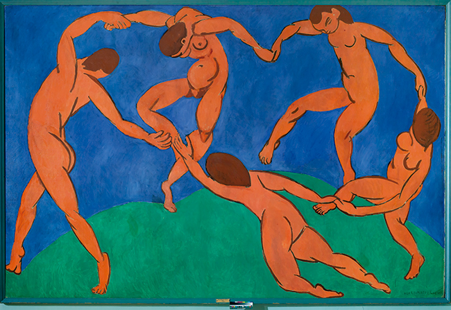 Henri Matisse | La Danse, 1909-1910 © Succession H. Matisse. Photo : © The State Hermitage Museum, Saint Petersburg, 2015/ Vladimir Terebenin, 2014