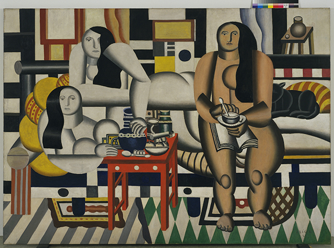 Fernand Léger | Three Women (Le Grand Déjeuner), 1921 © Adagp, Paris 2015 - Photo © 2015 Digital Image, the Museum of modern Art, New York/Scala, Florence