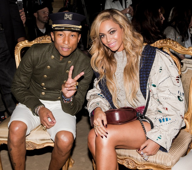 Pharell Williams と Beyoncé。|  © Chanel