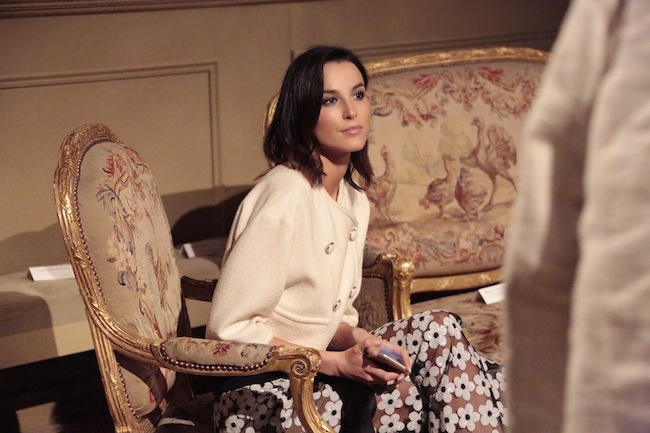 女優の Loan Chabanol (ローン・シャバノル)。| © Chanel
