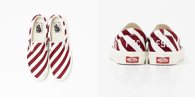 FREEMANS SPORTING CLUB - BARBER X VANS スリッポン ¥8,500 | © FREEMANS SPORTING CLUB