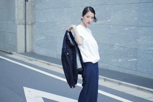新ブランド CLANE を発表した松本恵奈。Photography by Kazuma Iwano Courtesy of Droptokyo