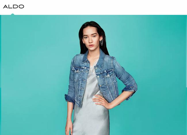 日本人モデル、Mona Matsuoka を起用した ALDO 2015年春夏キャンペーン。 | Image via www.aldogroup.com