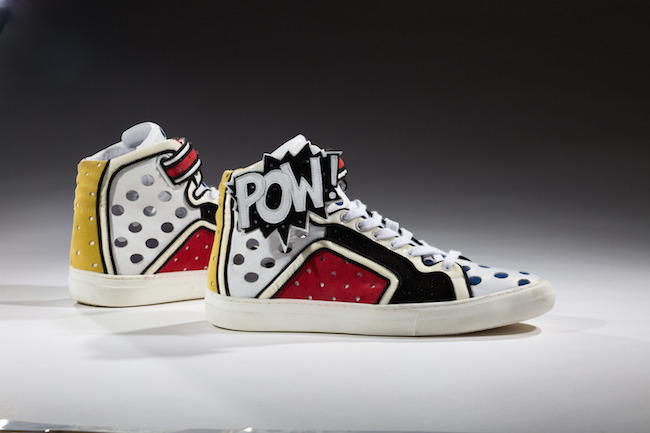 Pierre Hardy (ピエール・アルディ) 「Poworama」スニーカー、2011年 | Collection of the Bata Shoe Museum, gift of Pierre Hardy. | Courtesy American Federation of Arts