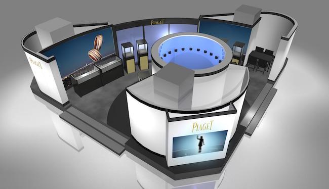伊勢丹新宿店ザ・ステージ 360° POSSESSION PHOTO BOX イメージ画像 | © Piaget