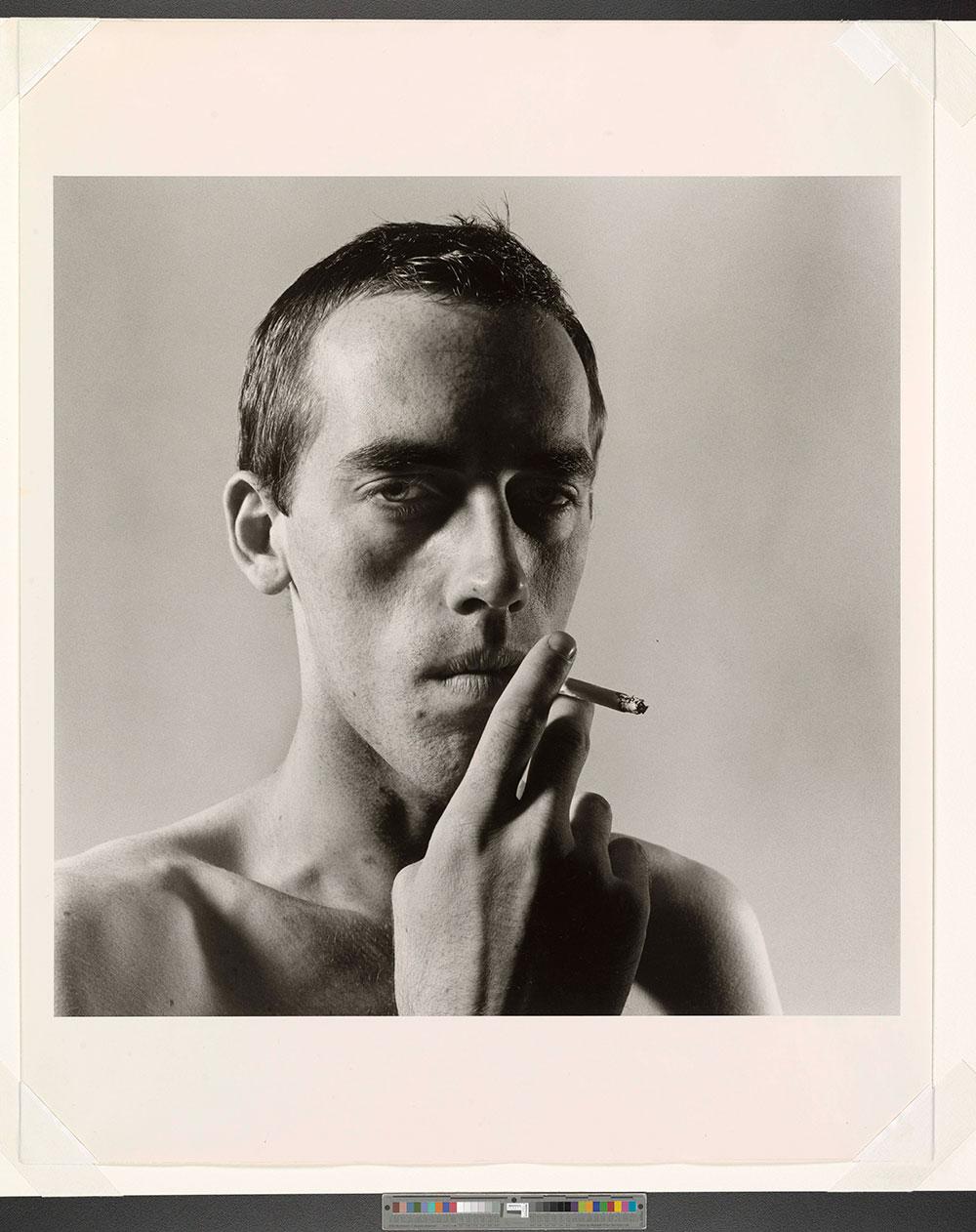 David Wojnarowicz Smoking, 1975 | Courtesy of Pace/MacGill Gallery ©Peter Hujar Archive