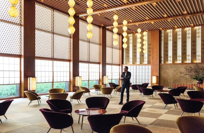 Bottega Veneta クリエイティブ・ディレクターの Tomas Maier、ホテルオークラ東京にて | © Bottega Veneta