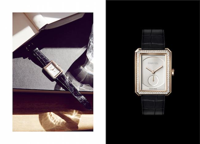 (左から) BOY・FRIEND ウォッチ (18KBG) ¥1,575,000、(18KBG、ブリリアントカット ダイヤモンド) ¥ 2,970.000 ※9月より展開予定 | © Chanel