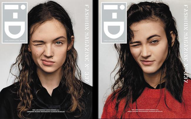 (左から) Adrienne Jüliger (エイドリアン・ジュライジャー)、Greta Varlese (グレタ・・ヴァーレス) | Images via i-d.vice.com