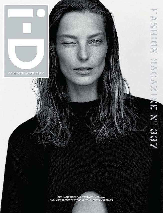 Daria Werbowy (ダリア・ウェーボウィ) | Image via i-d.vice.com