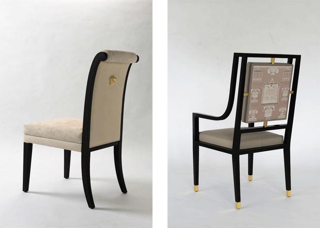 Via Gesù Chair | © Versace