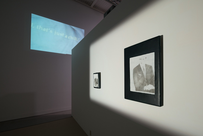 「李傑 (リー・キット) 展 The Voice behind me」展示風景 Photo: Ken Kato