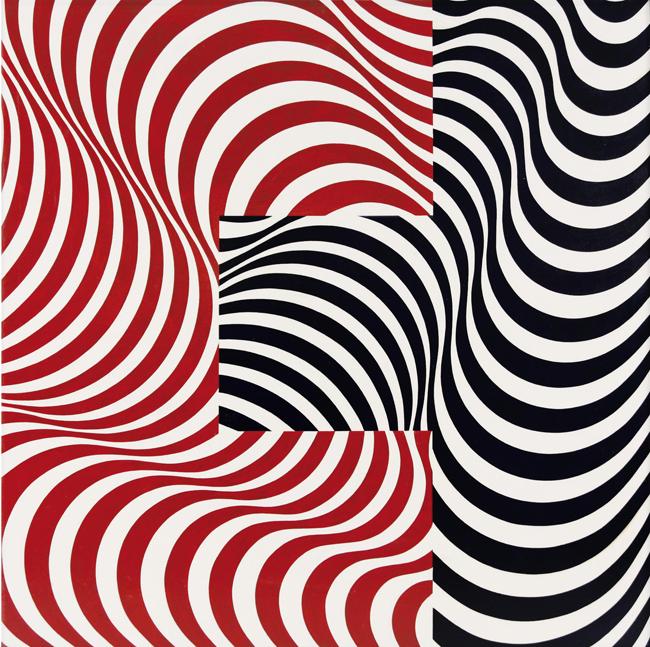 フランコ・グリニャーニ《波の接合 33》1965年 写真提供: Centro Culturale Arte Contemporanea Italia-Giappone(ACIG), Parma