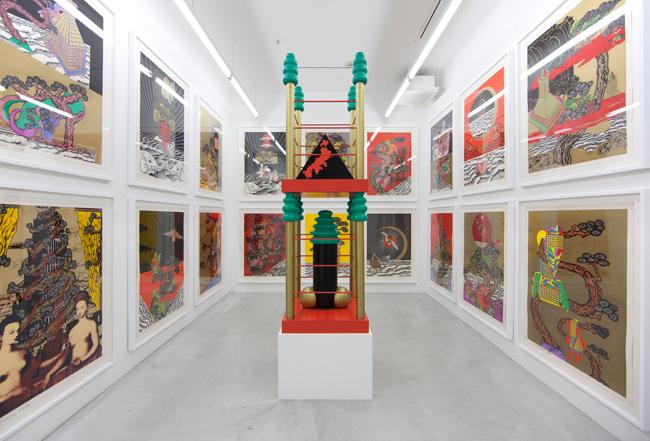 "Installation View: Keiichi Tanaami solo exhibition ""Passage in the Air (1975 - 1993)"" Chap. 1, NANZUKA, 2015 © Keiichi Tanaami Courtesy of the artist and NANZUKA"