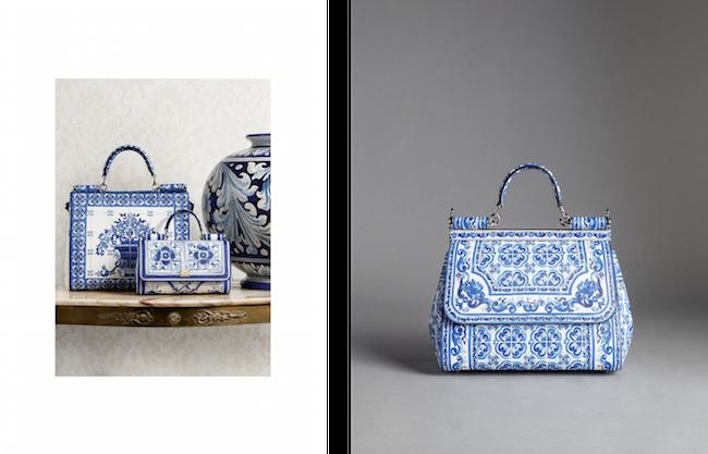(左から) バッグ ¥ 255,000、¥ 170,000、¥235,000 | © Dolce & Gabbana