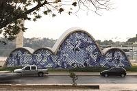 オスカー・ニーマイヤー《サン・フランシスコ・デ・アシス教会》Photo: Leonardo Finotti