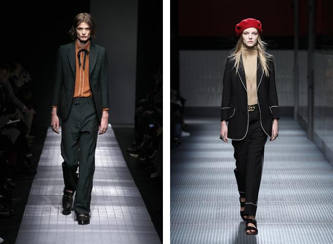 Alessandro Michele による Gucci 2015-16年秋冬コレクション | © Gucci