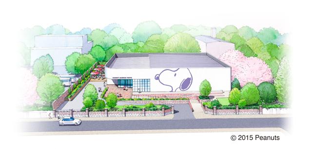 SNOOPY MUSEUM TOKYO イメージパース