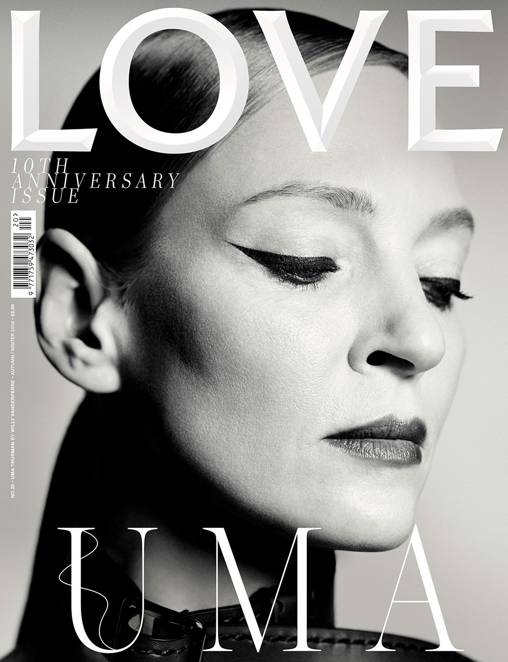 『LOVE』10周年記念号 | Photo by Willy Vanderperre