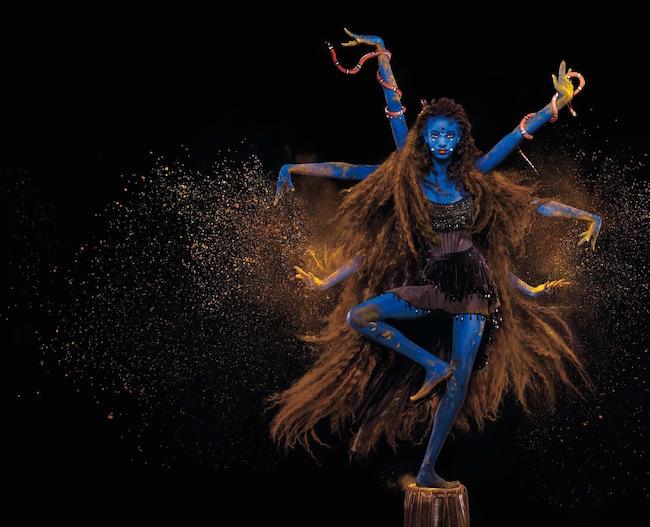 インド神話の戦いの女神 Kali (カーリー) に変身した Willow Smith | Photography Jean-Paul Goude