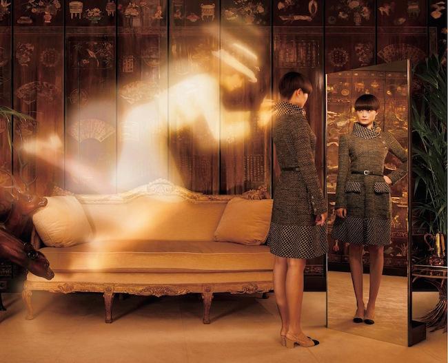 Coco Chanel (ココ・シャネル) に扮した Chris Lee | Photography Jean-Paul Goude