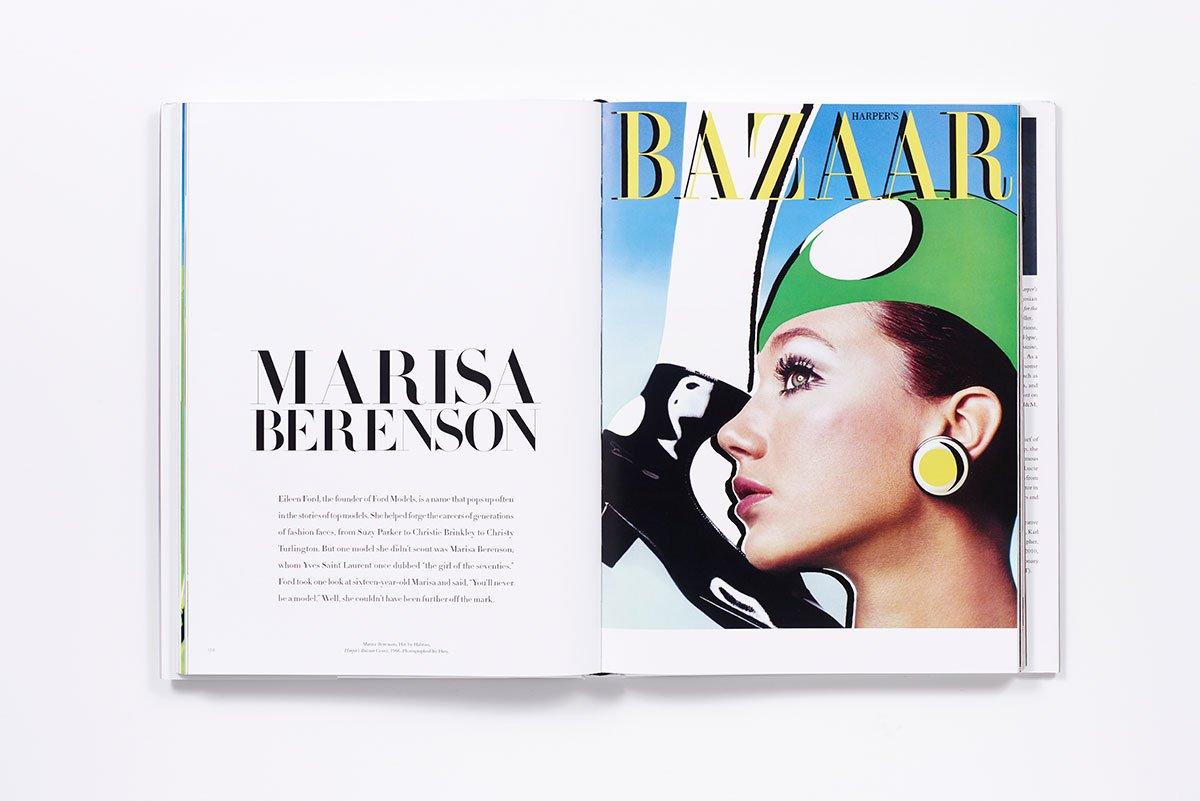 Elsa Schiaparelli (エルザ・スキャパレリ) の孫であり、60年代から70年代にかけて活躍したモデルの Marisa Berenson (マリサ・ベレンスン)。| Image via Amazon