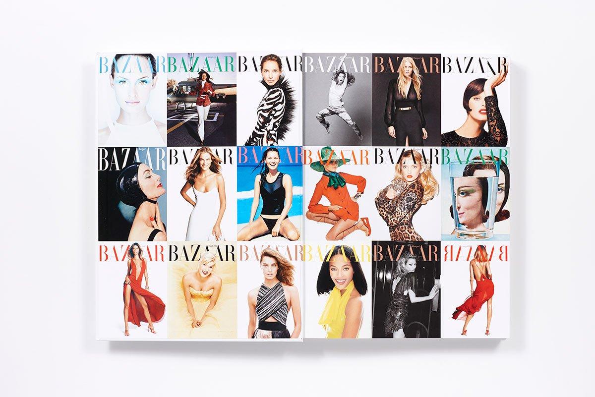 『Harper's Bazaar: Models』中ページイメージ