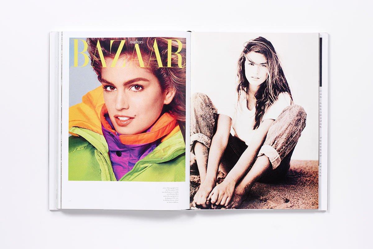 90年代スーパーモデルの代表格、Cindy Crawford (シンディ・クロフォード)。| Image via Amazon